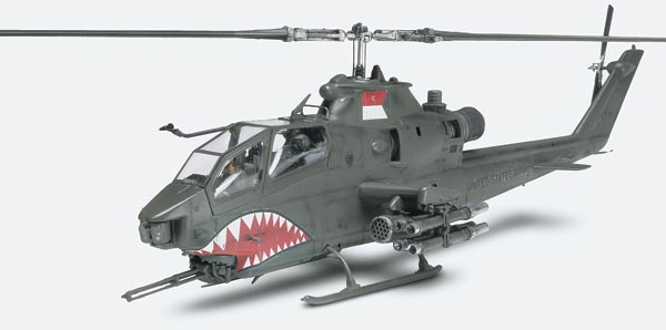 AH-1F Cobra Gunship plastic Model Kit Revell 85-5321