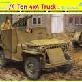 Soomustatud 1/4 Ton 4x4 Veoauto w/Bazooka - DML 6748