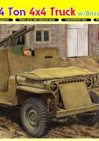 Armored 1/4 Ton 4x4 Truck w/Bazooka - DML 6748