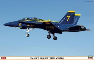 F/A-18 B/D Hornet Blue Angels Limited Edition - Hasegawa 09956
