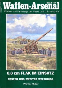 Flak 8,8 cm - Wydawnictwo Militærhistorisk 147