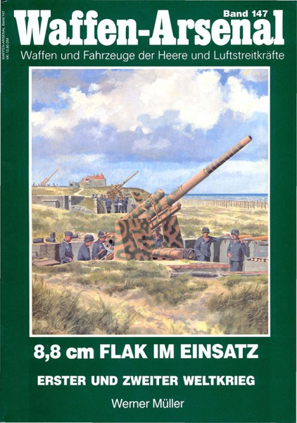 Flak 8,8 cm - Wydawnictwo Militaria 147