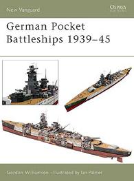 Allemand Poche Navires de guerre de 1939-45 - NOUVELLE avant-garde 75