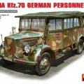 L1500A (Kfz.70) Tysk Personell Bil - MiniArt 35147