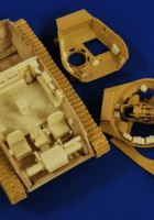 M24 Chaffee Interior ( Bronco ) - Verlinden 2735