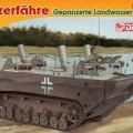 Condução tanque blindado terra, água trator Protótipo Nr. I - DML 7489