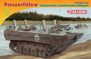 Tank vezetés páncélozott föld, víz traktor Prototípusát. - DML 7489