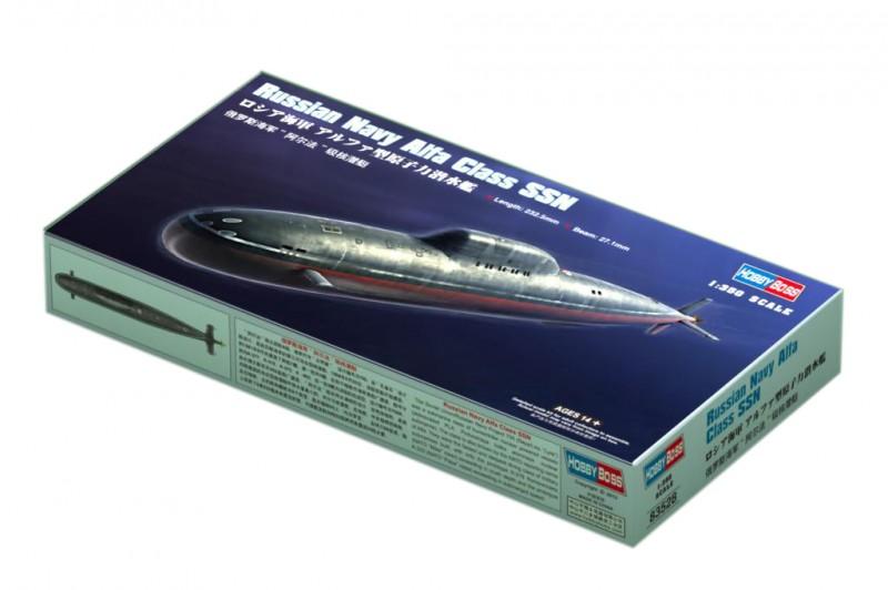 Russiske Flåde Alfa Klasse SSN - HOBBY BOSS 83528