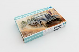 Sd.Kfz.8 Schwerer Zugkraftwagen 12t - Trompetista 01583