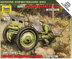 Sovjetiske 76 mm Kanon - Zvezda 6145