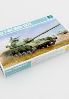 Nõukogude T-64 MOD 1972 - Trumpeter 01578