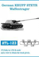 Tracks for German KRUPP STEYR Waffentrager - Friulmodel ATL-123