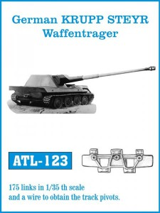 Tracks for German KRUPP STEYR Waffentrager - Friulmodel ATL-123