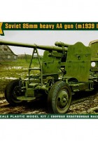 52-K 85mm sovjetiska gun sen version - Ess Modeller 72274