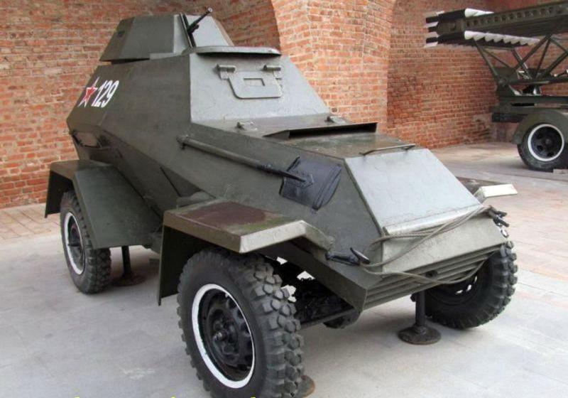 BA-64Б - mobilną