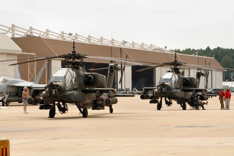 Boeing AH-64 Apache - Περιήγηση