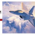 F-22 Raptor USAF - Hasegawa 7245