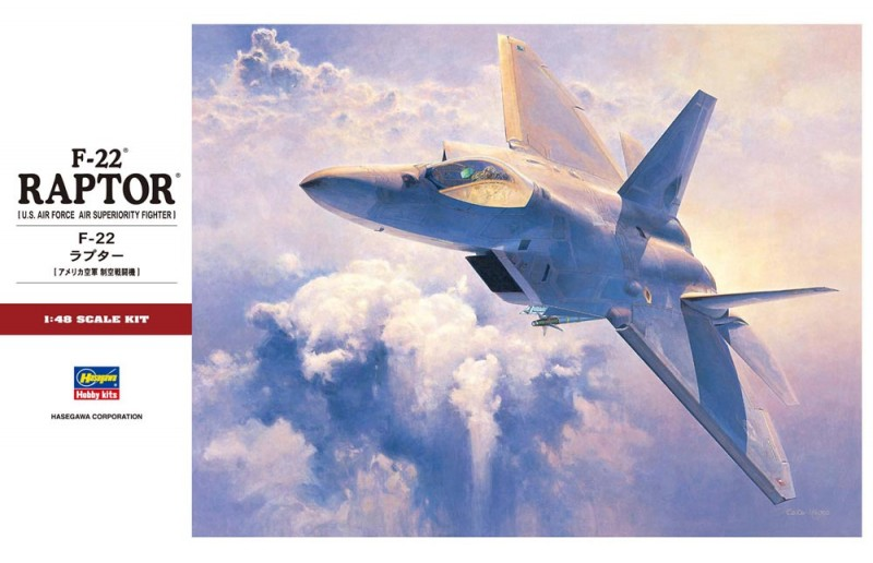 F-22 Raptor USAF-Hasegawa 7245