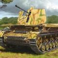 Ostwind flakpanzer IV Mobelwagen - Tamiya 32573