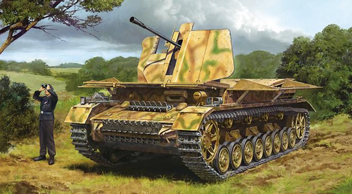防空坦克IV Mobelwagen-田宫32573