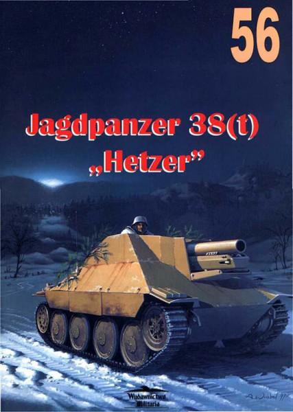 Jagdpanzer 38(t) - Hetzer - sdkfz.138/2 - Wydawnictwo Militaria 056