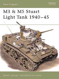 M3 и M5 Stuart танк светлина 1940-45 - нова Vanguard 33