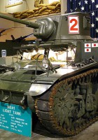 M3A1 Stuart - išorinis sukamaisiais apžiūra