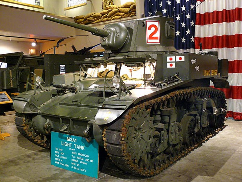 M3A1 Stuart - WalkAround