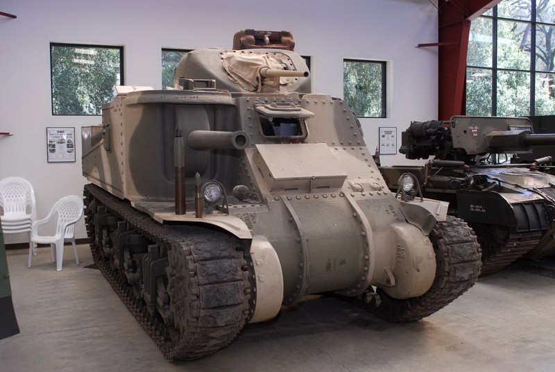 M3A5 Grant II - WalkAround