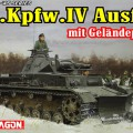 Pz.Kpfw.IV Ausf.B terreng for plogen - DML 6764