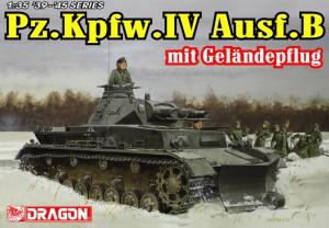 Pz.Kpfw.IV Ausf.B s terénom pluh - DML 6764