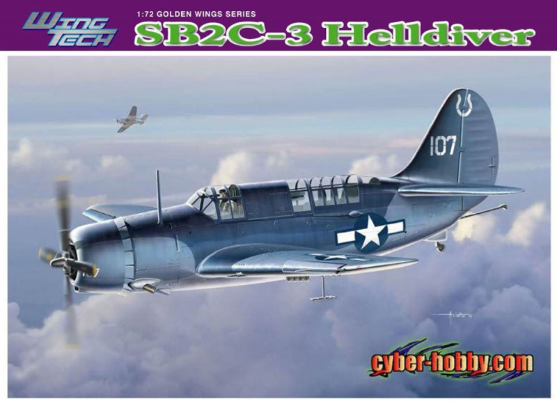 SB2C-3 Helldiver - Cyber-Hobby-5059