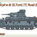Sd.Bil.141 Pz.Kpfw.III Ausf.G - Cyber-Hobby 6765