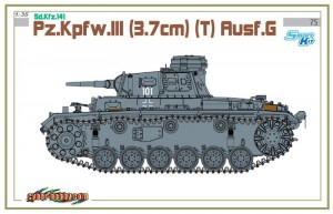 Sd.Kfz.141 Pz.Kpfw.III Ausf.G - Cyber-Hobby 6765