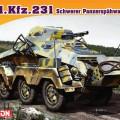 Sd.Kfz.231 Schwerer Panzerspahwagen (8-Rad) - DML 7483