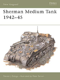 Sherman Medium Tank 1942-45 - NEW VANGUARD 03