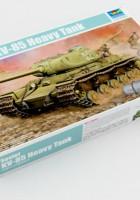 Sovjetski KV-85 Težki Tank - prvi trobentač deloval 01569