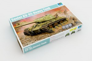 Советский кв-85 тяжелый танк - Трубач 01569