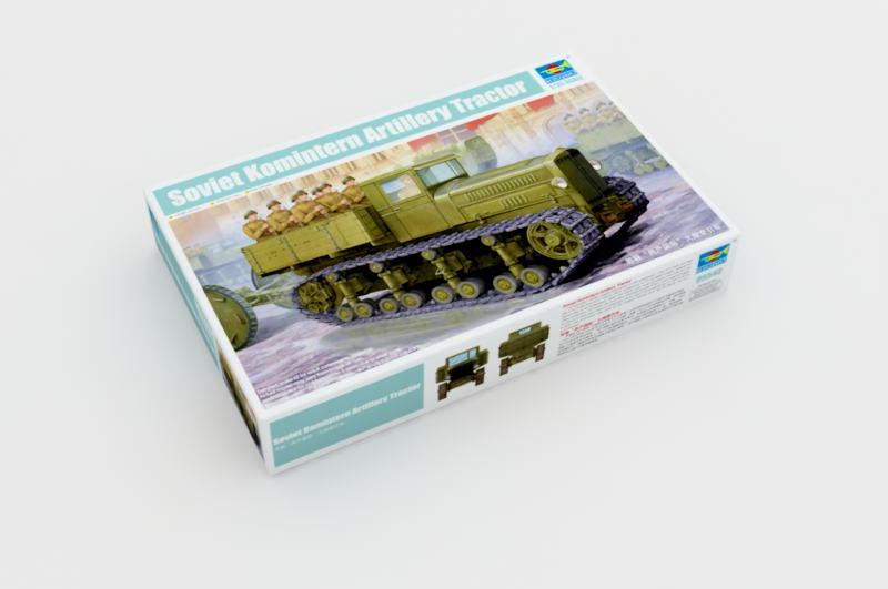 Sovjetiska komintern artilleri traktor trumpetaren 05540 for Modellino concorde