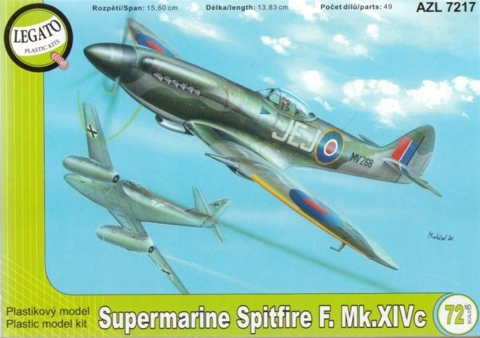 Supermarine Spitfire MK.XIVE - AZ-Modell Legato 7217