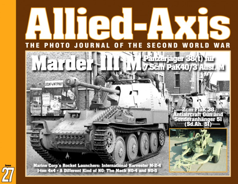 The Photo Journal of the Second World War No.27 - ALLIED-AXIS 27
