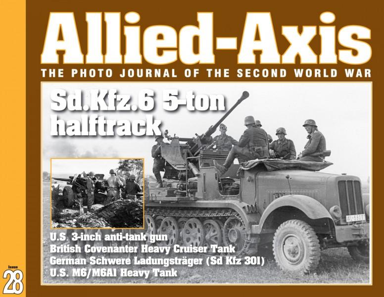 Фото Журнал війни No.28 Другої світової - ALLIED-AXIS 28