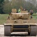 Tiger Tank in action - WalkAround