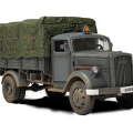 Allemand 3 tonnes de Fret Camion - Forces of Valor 80038
