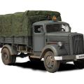 Nemecký 3 tony Nákladu Truck - Sily Valor 80038
