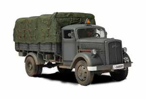 Duits 3 ton Cargo Truck - Forces of Valor 80038