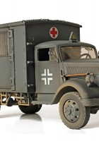 Tyske 4x4 Ambulance - Forces of Valor 80076