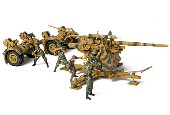 Alemão 88mm Flak Arma - Forças do Valor 80070