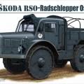 Ŝkoda EBB - wiel tractor Ost, Riich Modellen 35005