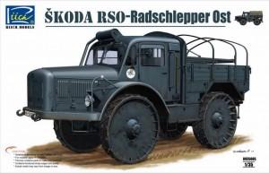 Ŝkoda RSO-륜 트랙터 Ost,Riich 모델 35005